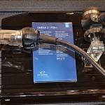En materia de reguladores, Oceanic presentó el Omega 3, la actualización de un verdadero clásico por su diseño de salida lateral, el mismo de los famosos Poseidón.