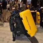 Es cada vez mayor las opciones disponibles en materia de rebreathers y esto se refleja en los expositores que hubo en la DEMA 2013. En la foto el Inspiration, de la firma inglesa APDiving (con el nombre del distribuidor en USA, Silent Diving),
